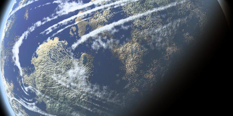 宇宙空間の写真