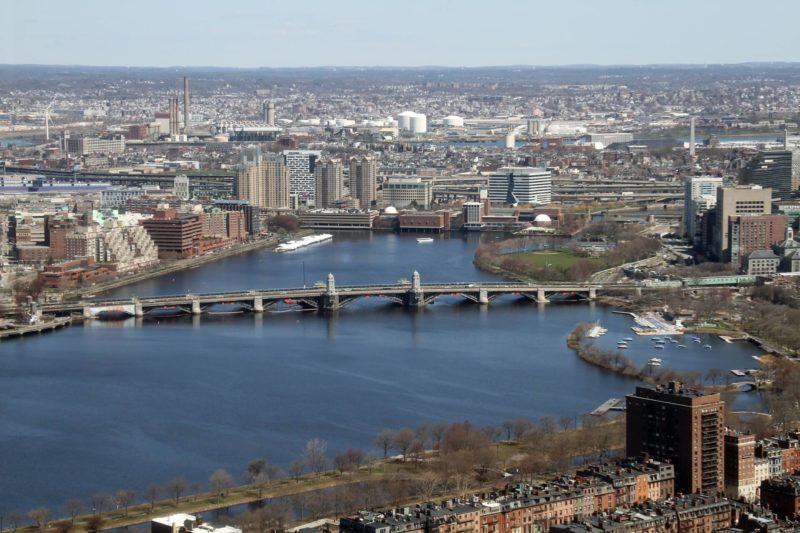 映画の舞台ボストンの街